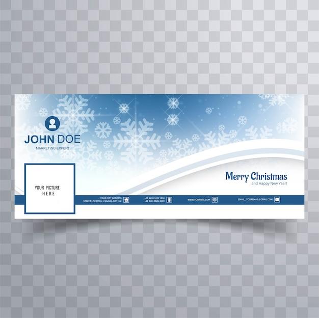 Frohe weihnachten glänzende schneeflocke banner