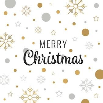 Frohe weihnachten gold schriftzug design