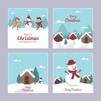 Frohe weihnachten gruß cardd