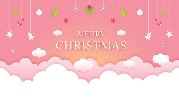 Frohe weihnachten gruß hintergrund