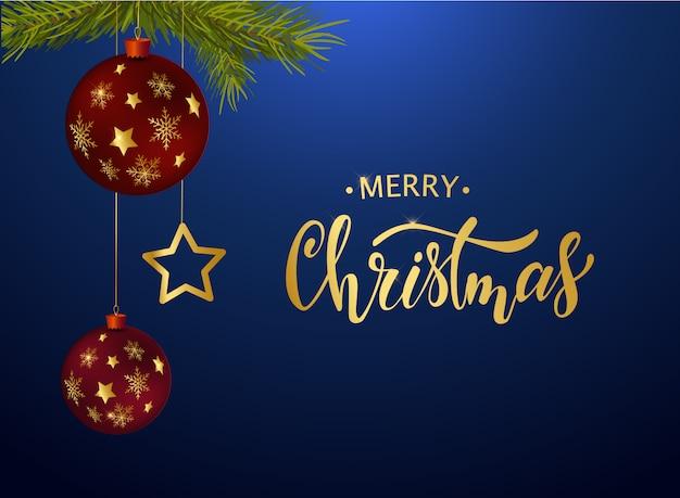 Frohe weihnachten grußkarte design
