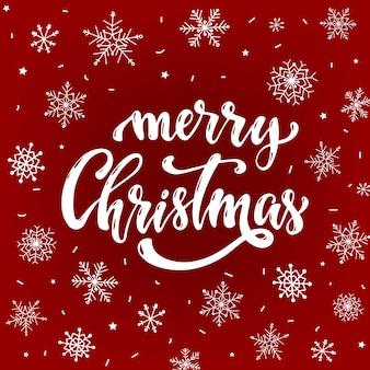 Frohe weihnachten grußkarte, poster, banner