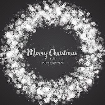 Frohe weihnachten grußkarte vorlage