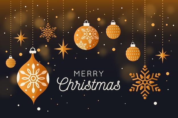 Frohe weihnachten hintergrund konzept