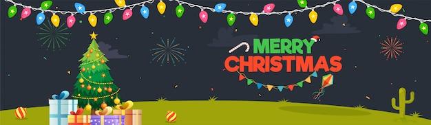 Frohe weihnachten hintergrund.