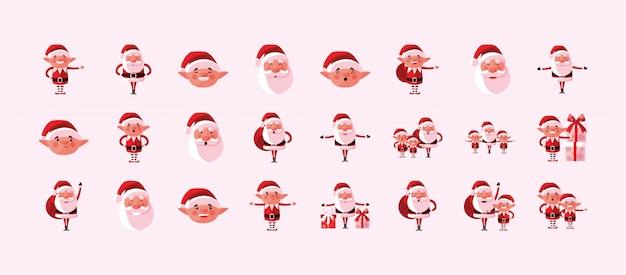 Frohe weihnachten-icon-set