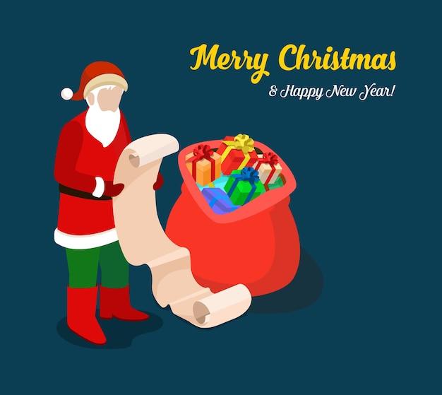 Frohe weihnachten illustration