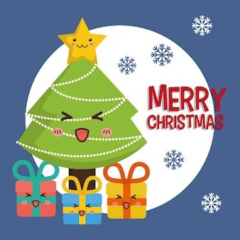 Frohe weihnachten-konzept