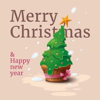 Frohe weihnachten kuchen