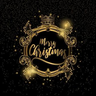 Frohe weihnachten luxus