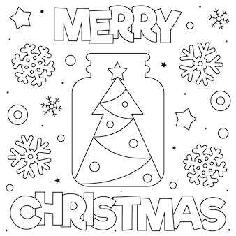 Frohe weihnachten malvorlage