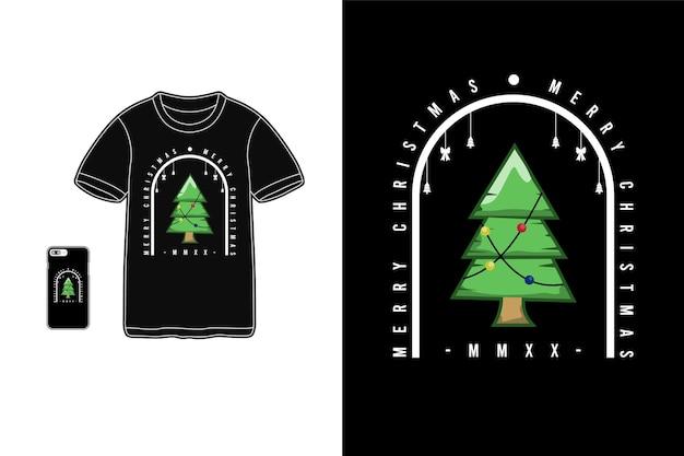 Frohe weihnachten mmxx, t-shirt warenmodell
