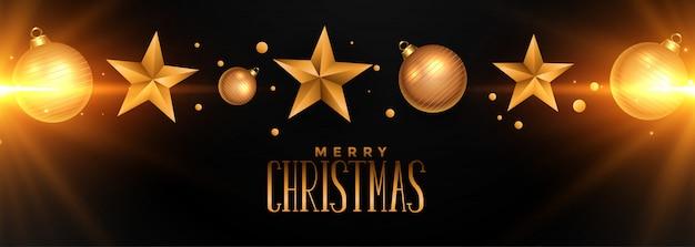 Frohe weihnachten party flyer mit leuchtenden lichtern