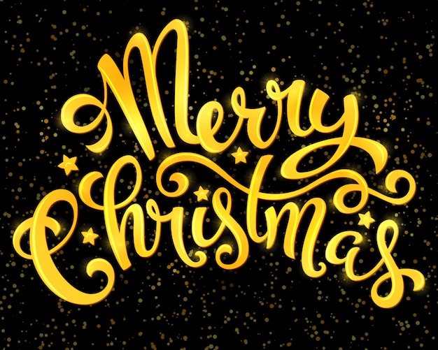 Frohe weihnachten-plakat