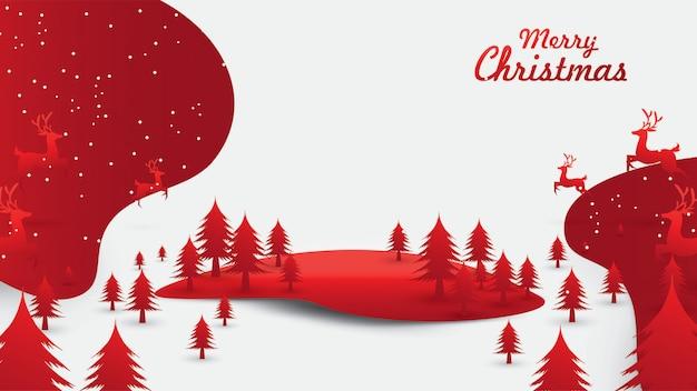 Frohe weihnachten santa claus am himmel