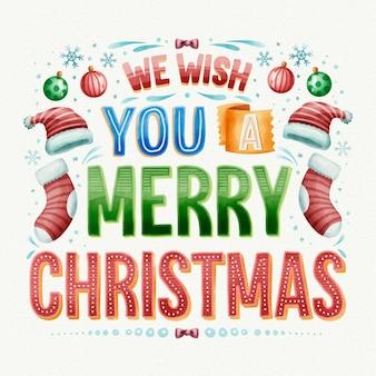 Frohe weihnachten schriftstil