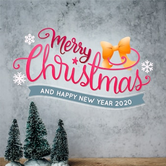 Frohe weihnachten-schriftzug