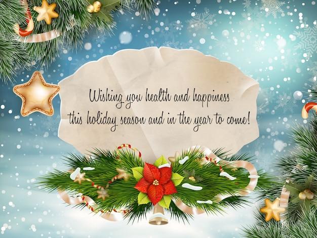 Frohe weihnachten schriftzug.