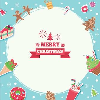 Frohe weihnachten süß