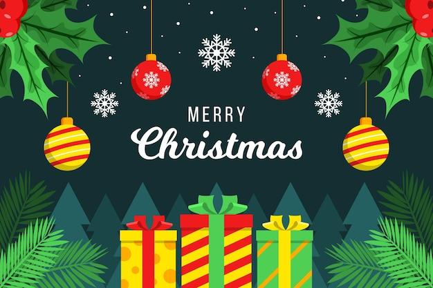 Frohe weihnachten tapetenstil