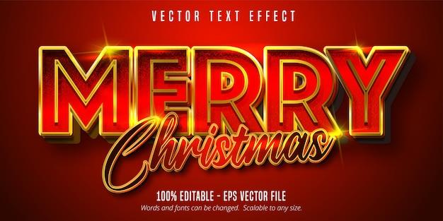 Frohe weihnachten texteffekt
