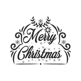 Frohe weihnachten-typografie-t-shirt-design