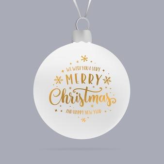 Frohe weihnachten-typografie