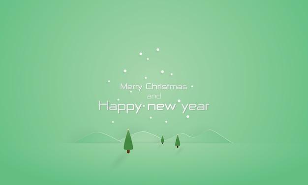 Frohe weihnachten und guten rutsch ins neue jahr-hintergrund