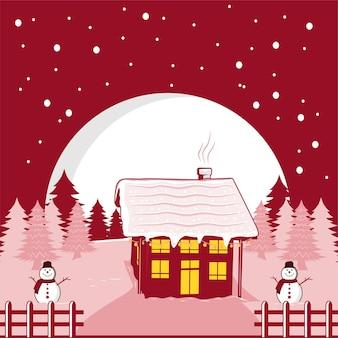 Frohe weihnachten und guten rutsch ins neue jahr hintergrund