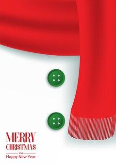 Frohe Weihnachten und guten Rutsch ins Neue Jahr-Karte