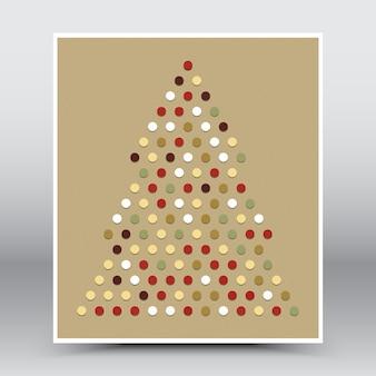 Frohe weihnachten und happy new year card