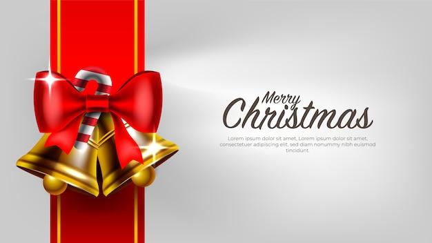 Frohe weihnachten und neujahr hintergrund mit ornamenten