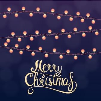 Frohe weihnachten und neujahr hintergrund. vektor-illustration eps10