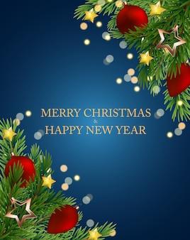 Frohe weihnachten und neujahr.