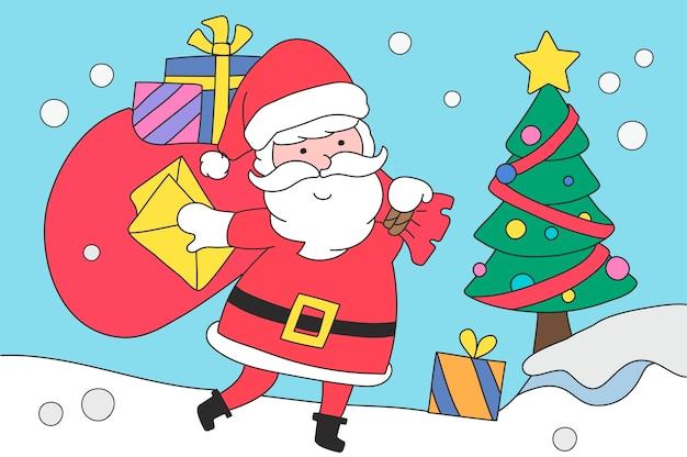 Frohe weihnachten vektor