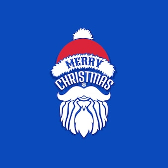 Frohe Weihnachten, Vektorgestaltungselement