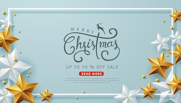 Frohe weihnachten verkauf hintergrundvorlage