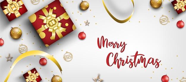 Frohe weihnachten. weihnachtsdekoration saison