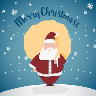 Frohe weihnachten weihnachtsmann