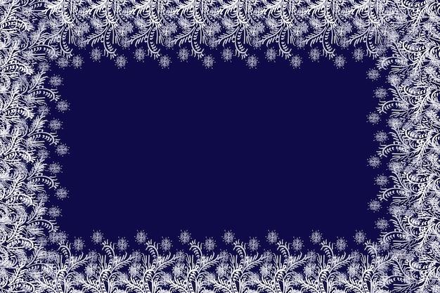 Frohe weihnachten wirbelnder schneeeffekt mit realistischen hellen weißen schneeflocken