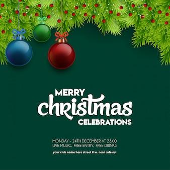 Frohe weihnachtsfeier