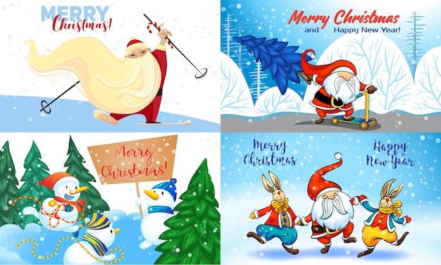 Frohe weihnachtskarten