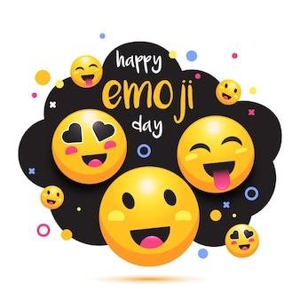 Frohen emoji-tag