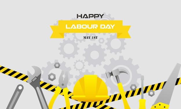 Frohen internationalen tag der arbeiterarbeit