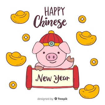 Frohes chinesisches neues jahr