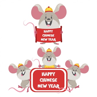 Frohes chinesisches neujahr