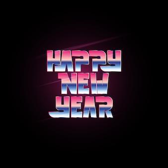 Frohes neues jahr 2019 feier