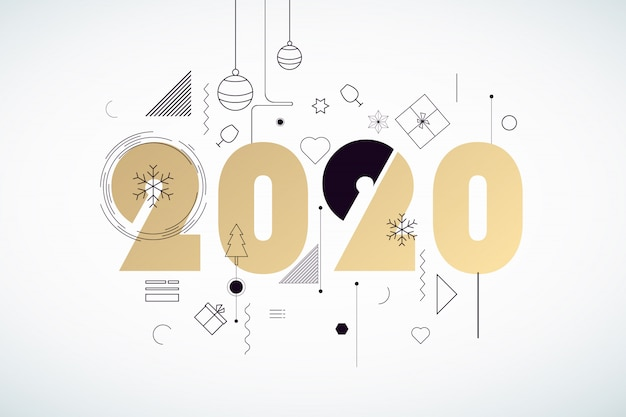 Frohes neues jahr 2020