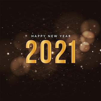 Frohes neues jahr 2021 grußhintergrund