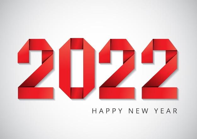 Frohes neues jahr 2022 glückwunsch konzept modernes design für kalendereinladungen grußkarten etc.